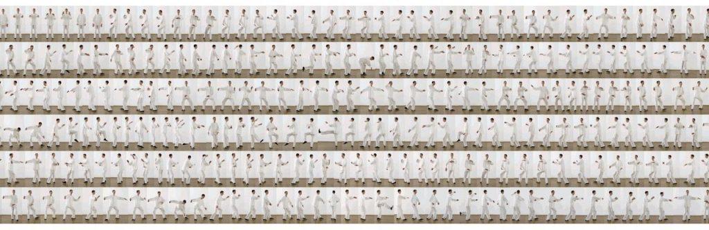 Tai Chi Plakat 60 Bewegungen